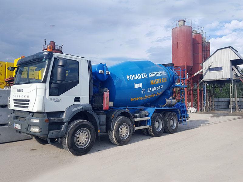 Beton towarowy - producent prefabrykatów betonowych Bruko-Bud