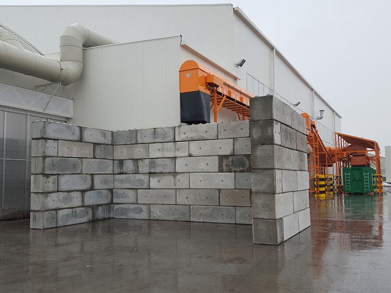 Stanowisko składowe z bloków betonowych - producent Bruko Bud