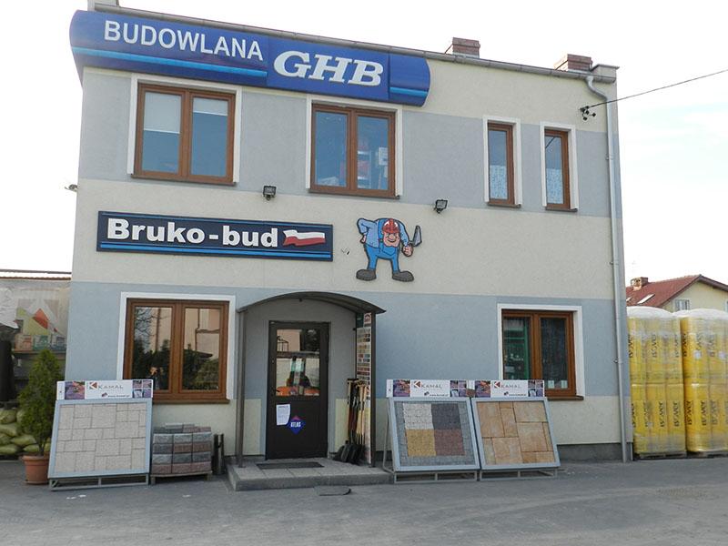 Hurtownia budowlana Łochowo Bruko Bud