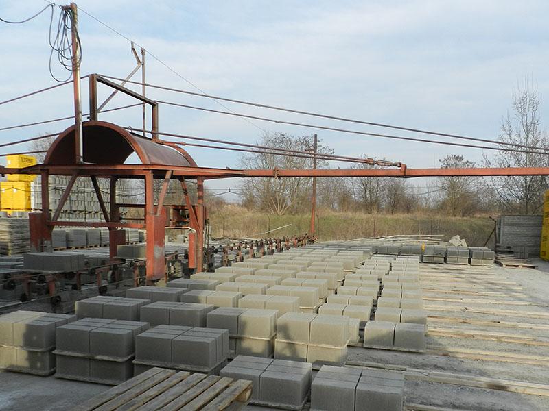 Bloczni betonowe produkowane przez Bruko-Bud Lisi Ogon Producenta prefabrykatów Betonowych