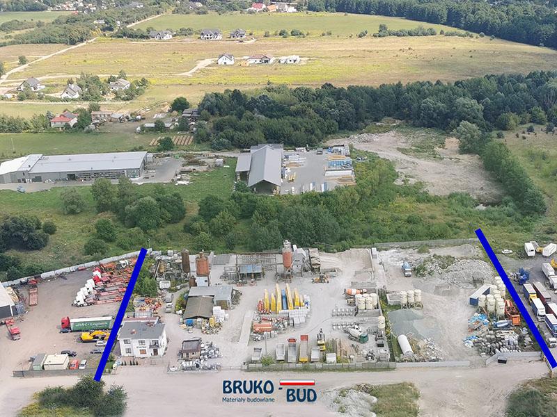 Siedziba producenta bloków betonowych Bruko-Bud Lisi Ogon