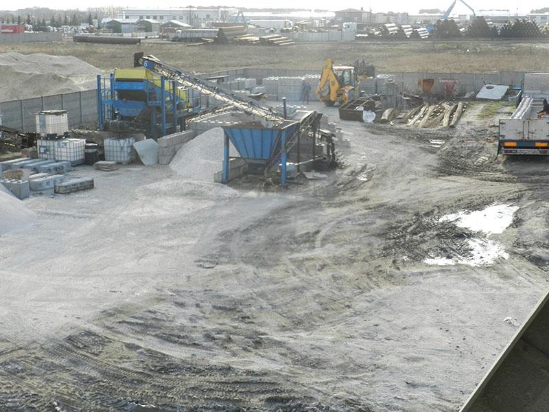 Produkcja prefabrykatów betonowych Bruko-Bud Liso Ogon