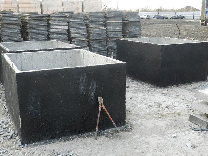 Producent prefabrykatów betonowych - szamba betonowe