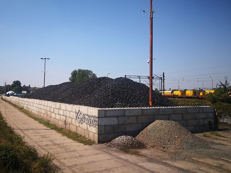 Bloki betonowe do budowy składuó materiałów sypkich - Bruko-Bud producent prefabrykatów betonowych