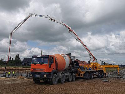 Bruko Bud transport materiałów budowlanych